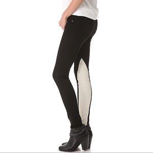Rag & Bone Lambskin Jodhpur Jeans
